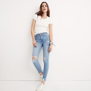 Madewell High-Rise Skinny Jeans in Ontario